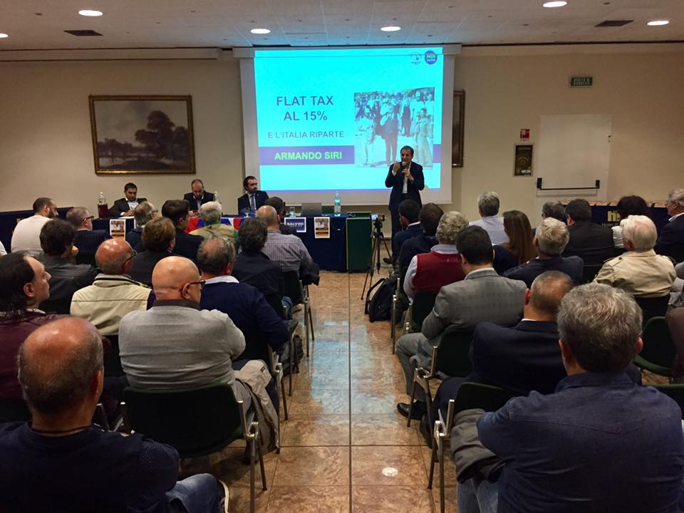 A Torino per parlare di Flat Tax al 15%
